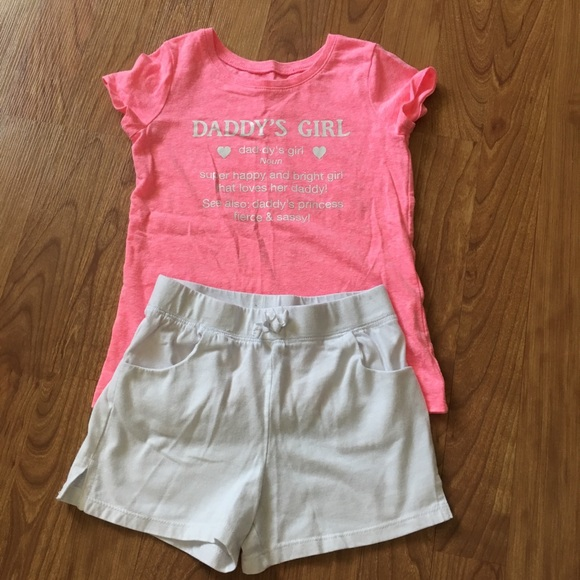 Children's Place Other - Daddy's Girl Short Outfit